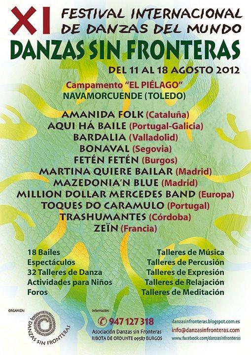 Danzas sin Fronteras 2012